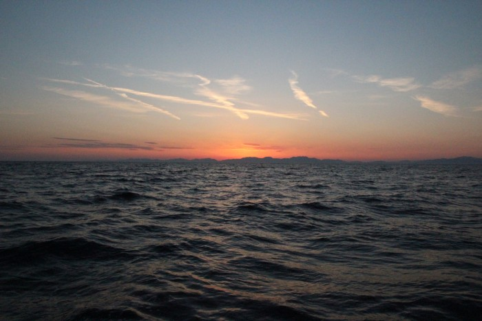 На яхте из Бодрума в Фетхие