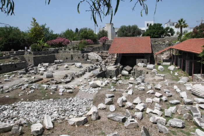 Бодрум (Bodrum) -  достопримечательности городка в Турции
