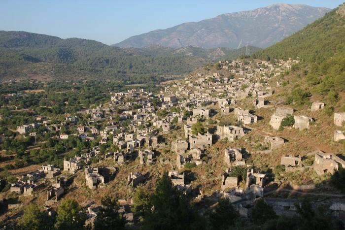 Фетхие (Fethiye) - курортный городок в Турции на юго западе. Достопримечательности