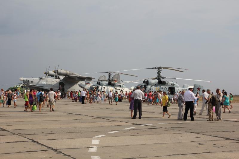 Как проходит День Авиации в Каче, фото отчет за 2014 год
