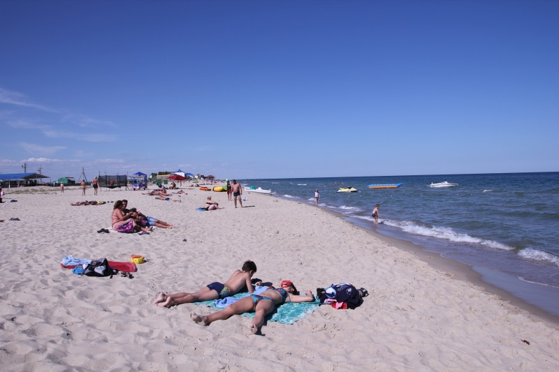 Курортное - отзыв о трехдневном отдыхе в базе отдыха Дельфин 2014