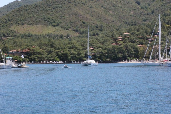 Мармарис - городок на побережье в Турции с дешевыми маринами