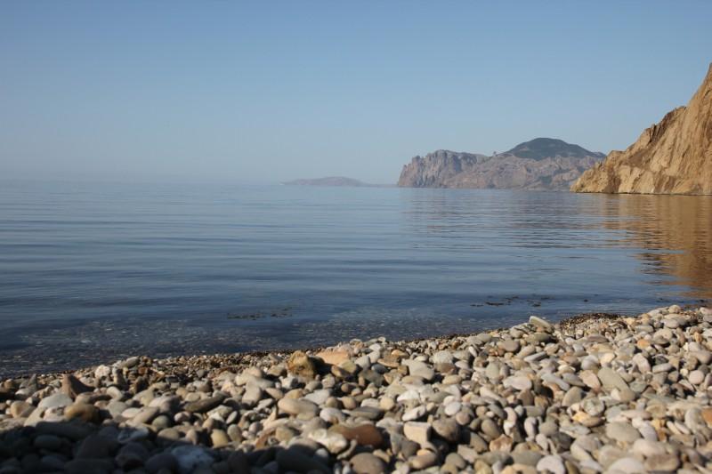 Орджоникидзе 2012. Жизнь в палатках дикарем на берегу моря