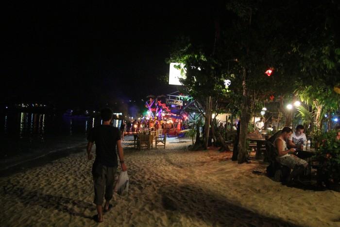 Вечерние фаершоу на Пхи-Пхи Доне (Phi Phi Don)