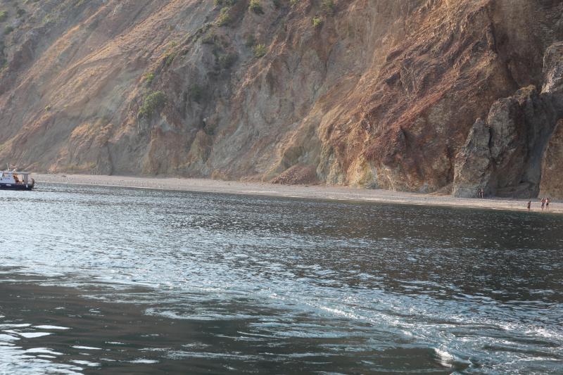 мыс Фиолент - отличное место по плавать возле Севастополя. Как добраться и попрыгать со скалы Яшмового пляжа