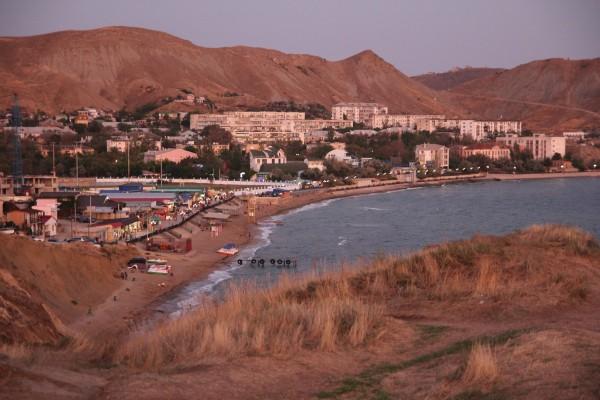 Крым, Море, Орджоникидзе