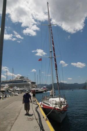 Как происходит заправка яхты в Турции и других странах